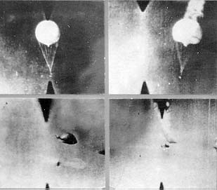 (NOT USED) Japanese balloon shot down (USAF) copy