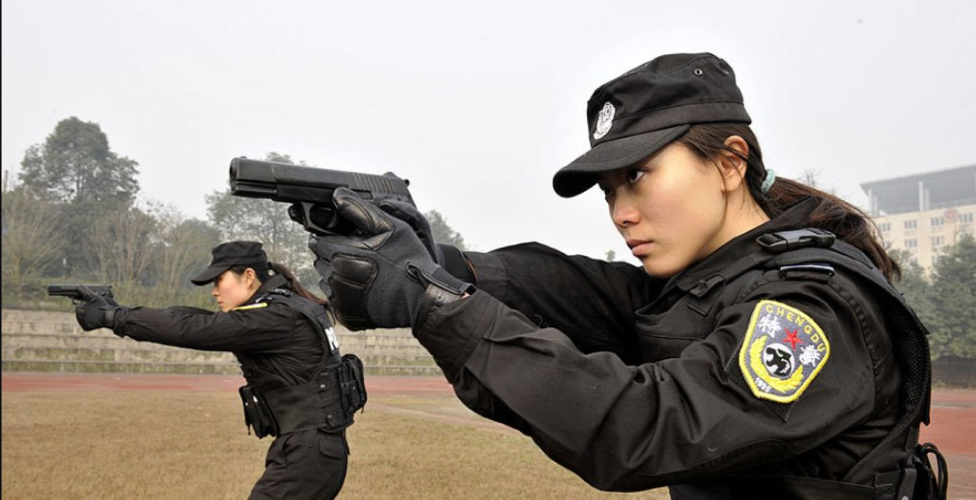 chinese women police